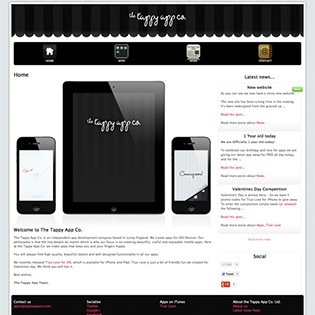 Tappy App Co. Ltd - A Responsive Website